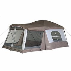 "The Wenzel Klondike family camping Tent is the top-selling family tent that family campers are really buying! ""Big Room"" design makes this tent a great choice for casual relaxed camping. Tenda Camping, Camping Bedarf, Best Tents For Camping, Cool Tents, Camping Checklist, Camping Essentials, Family Camping, Outdoor Camping, Camping Hacks"