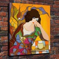 HD Print Itzchak Tarkay Decorative Art paintings watercolor woman canvas 16x22   eBay