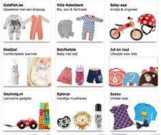 """Een aantal webshops uit de categorie """"Baby & Kind"""""""