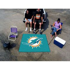 Miami Dolphins NFL Tailgater Floor Mat (5'x6')
