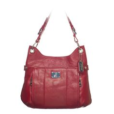 Laney-Red Leather Bag.    #graceadele  get this bag free or half price if you host a Grace Adele party.