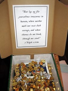 Th' treasures inside be worth mor' than gold.  Convert to Doctrine & Covenants gathering to Ohio