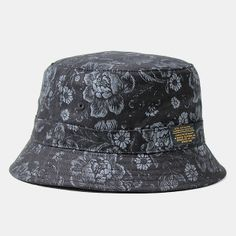 3dd33f7b123 10deep Thompson Fisherman Hat - Black Floral Brocade