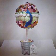 Sweets tree #birthday #gift #sweetcheeksuk.com