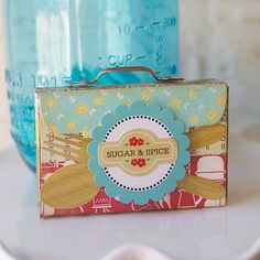 Hilary Kanswischer created this super cute and fun recipe box using Where Women Cook's Mini Recipe Box & Cards die set. This is the perfect box for any kitchen!