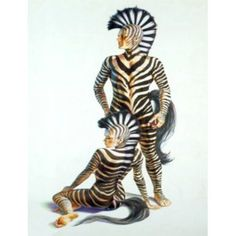 Other Christmas Decorations Zebra Stuff, Christmas Gifts, Christmas Decorations, Unique Costumes, Fantasy Costumes, Hanging Signs, Zebras, Body Painting, Tigger
