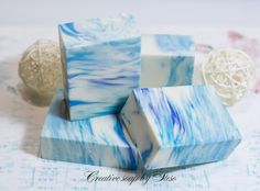 Creative soap by Steso: Music Sea .. Soap from scratch cold method. Equipment double fracture
