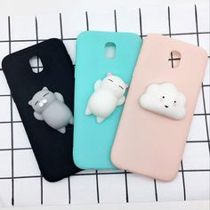 Squishy Cases For Samsung Galaxy 2017 Cover Case Cute Animals Cat Soft Cover Capa For Samsung 2017 Case Cloud Coque. Subcategory: Mobile Phone Accessories & Parts. Cute Cases, Cute Phone Cases, Wallpaper J7 Prime, Phone Cases Samsung Galaxy, Iphone Cases, Funny Nicknames For Friends, Friends Phone Case, Galaxy J5, All Mobile Phones