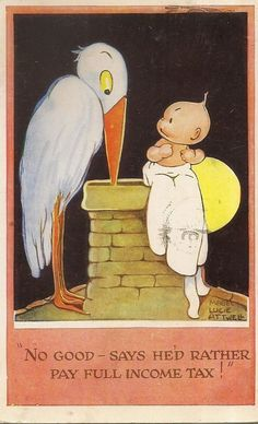 MABEL LUCIE ATTWELL card, 1949 | eBay