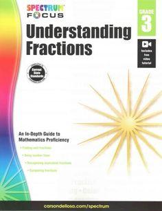 Understanding Fractions, Grade 3