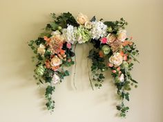 Silk flower swags spring door wreaths silk flower wreath floral silk flower swags spring door wreaths silk flower wreath floral swags oak wall silk flowers pinterest silk flower wreaths spring door mightylinksfo
