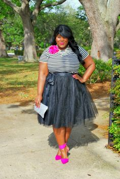 Musings of a Curvy Lady: Black & White & Fab All Over