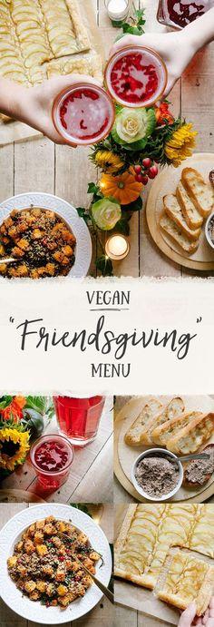 "Vegan ""Friendsgiving"" Recipes"