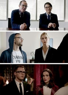 Couples of SHIELD undercover. (And YES Philinda are a couple. Shut up. Yes they are.)
