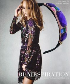 Headband inspired by Sexy Folk in Cosmopolitan UK November 2014