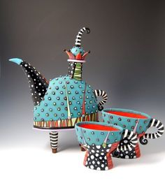 Natalya Sotsis one of my favorite artists. I follow her work since I took up ceramic classes 3 years ago. She is Russian by nationality and lives currently in the USA with her family. Her russian …