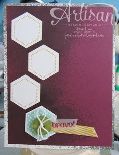 Bravo Hexagons - AWW | Jane Lee