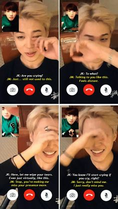 SeoulSisterSopi: Jikook AU where JiKook are in a long distance relationship. (Even tough I think they would be like this even if it wasn't an AU)