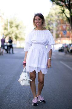 Street fashion: Mediolan, Tydzień Mody Męskiej, fot. Imaxtree
