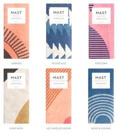 Pattern design Packaging - the most beautiful chocolate packaging! Chocolate Orange, Mast Chocolate, Mast Brothers Chocolate, Artisan Chocolate, Poster Design, Label Design, Branding Design, Logo Design, Package Design
