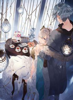 Anastasia Kadoc Fate Anastasia Romanov, Kara No Kyoukai, Fate Servants, Manga Couple, Cute Anime Couples, Fate Stay Night, Anime Art Girl, Kawaii Anime, Anime Manga