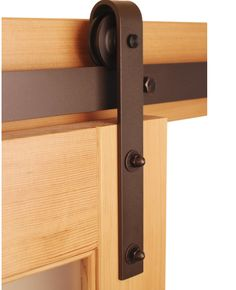 Sliding Barn Door Hardware - Stainless Steel, Oil Rubbed Bronze, and Black finishes Inside Barn Doors, Diy Barn Door, Sliding Barn Door Hardware, Barn Door In House, Barn Door Track, Interior Window Shutters, Interior Barn Doors, Sliding Door Systems, Sliding Doors