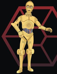 How to Draw C-3PO from Stars Wars Saga Drawing Lesson.  Advanced tutorial but I love Star Wars
