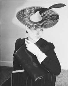 Lilly Daché, spring 1940 collection: polka-dotted foulard hat  with quill.                           © Bettmann/CORBIS. 1950s;                                        closed business, 1968.                   Awards:                 Neiman Marcus award, 1940; Coty American Fashion Critics award, 1943.                   Died:                 31 December 1989, in Louvecienne, France.