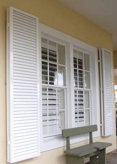 HOMEing-IT Protective Hurricane Shutters- Acadian Windows The Most Crucial Parenting Techniques Arti House Shutters, Diy Shutters, Window Shutters, Hurricane Panels, Hurricane Shutters, Security Shutters, Double Window, Shutter Doors, Home Renovation