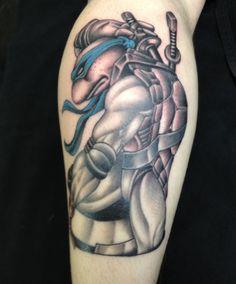 Teenage mutant ninja turtle #tmnt #leanardo #teenagemutantninjaturtle #tattoo