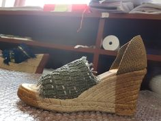 Espadrilles, 18th, Wedges, Summer, Shoes, Fashion, Zippers, Chains, Pearls