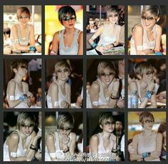 Hair style! Sunglasses! Anita Mui, My Idol, Style Icons, Singer, Actresses, Hair Styles, Sunglasses, Female Actresses, Hair Plait Styles