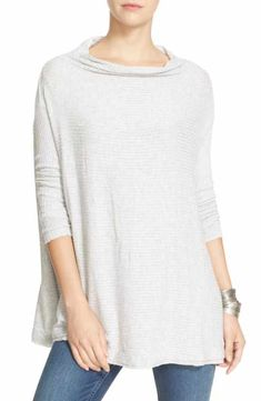 4d41ffa20f Free People Lover Rib Split Back Pullover Simple Fall Outfits