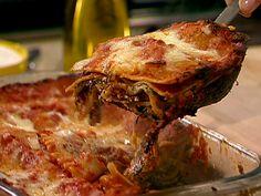 Better Beef Lasagna Recipe : Ellie Krieger : Food Network - FoodNetwork.com