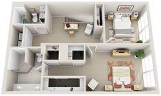 2_Townhomes and Lofts « 3Dplans.com