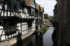 The River Stour in the middle of Canterbury Best Key West Hotels, Canterbury Kent, Travel Deals, European Travel, Hotel Reviews, Picture Photo, Travel Photos, Countryside, England