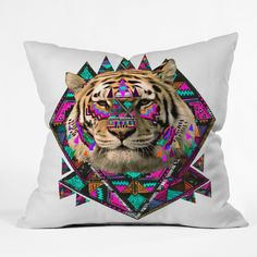 $45 Kris Tate Wild Magic Throw Pillow