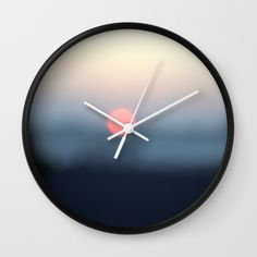 Clock with my design.