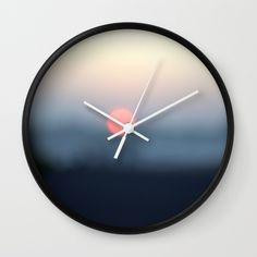 Clock with my design.