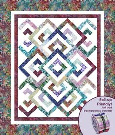 Diamond Double Designer Pattern: Robert Kaufman Fabric Company