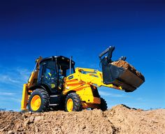 Heavy Machinery by JCB/JCB Entreprenad - http://MaskinVerket.se #JCB
