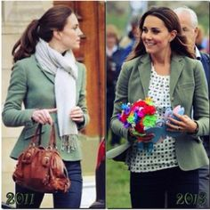 Kate Middleton - repeat of a favourite blazer by RL
