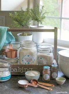 Pantry Kitchen & Spice Jar Labels for your Spring redo!   Worldlabel Blog