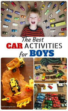 For Toddlers – Best Car Activities For Boys This has my son written all over it! Boys and their cars! So fun!This has my son written all over it! Boys and their cars! So fun! Activities For Boys, Summer Activities, Preschool Activities, Educational Activities, Niklas, Toddler Car, Raising Boys, Crazy Kids, Fun Learning