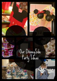 Check out our wonderful disney themed party ideas.  We had a DisneySide party that was fun for tweens and teens