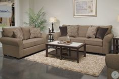 #LivingRoomEndTables Cheap Living Room Rugs, Living Room Furniture Sale, Simple Living Room, Living Room Interior, Modern Living, Small Living, Brown Couch Living Room, Living Room Sets, Living Room Decor