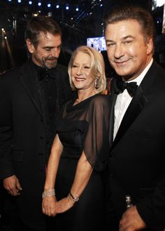 Pin for Later: 26 Stars Qui N'ont Pas Su Résister au Charme d'Helen Mirren Jeremy Irons and Alec Baldwin