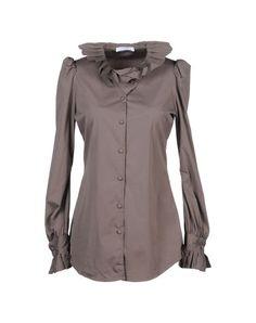 Aglini Women - Shirts - Long sleeve shirt Aglini on YOOX