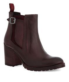 Chelsea Boots mit breitem Absatz