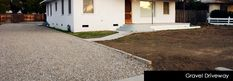 DIY gravel driveway...inexpensively